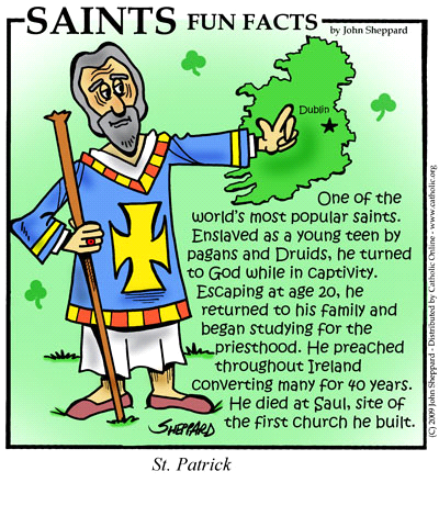 Facts about Saint Patrick